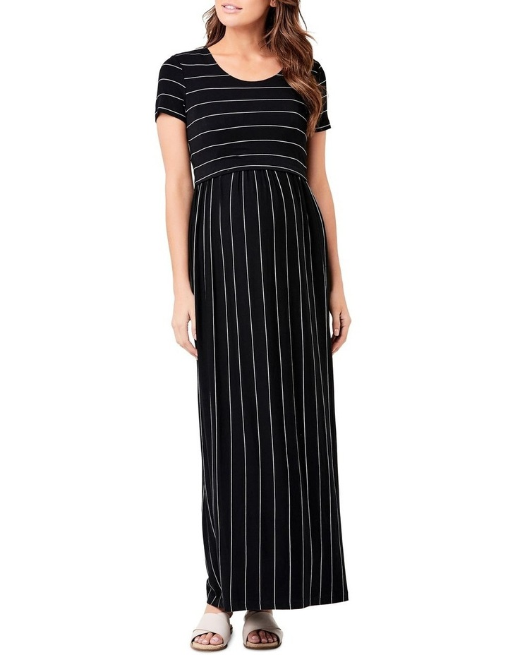Maxi Crop Top Nursing Dress image 1