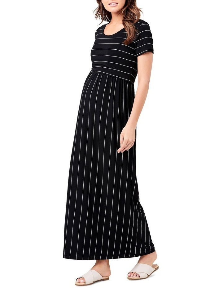 Maxi Crop Top Nursing Dress image 2