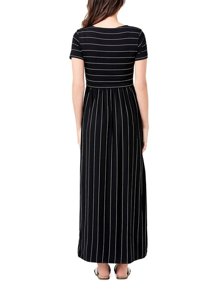 Maxi Crop Top Nursing Dress image 3