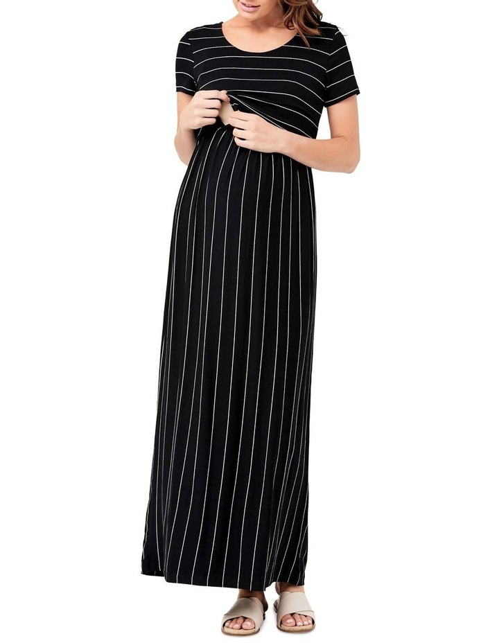 Maxi Crop Top Nursing Dress image 4