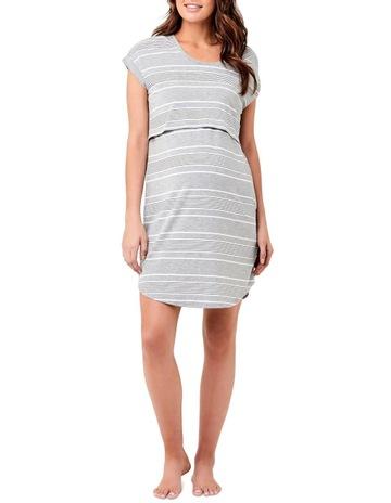 Silver Marle / White / Black colour