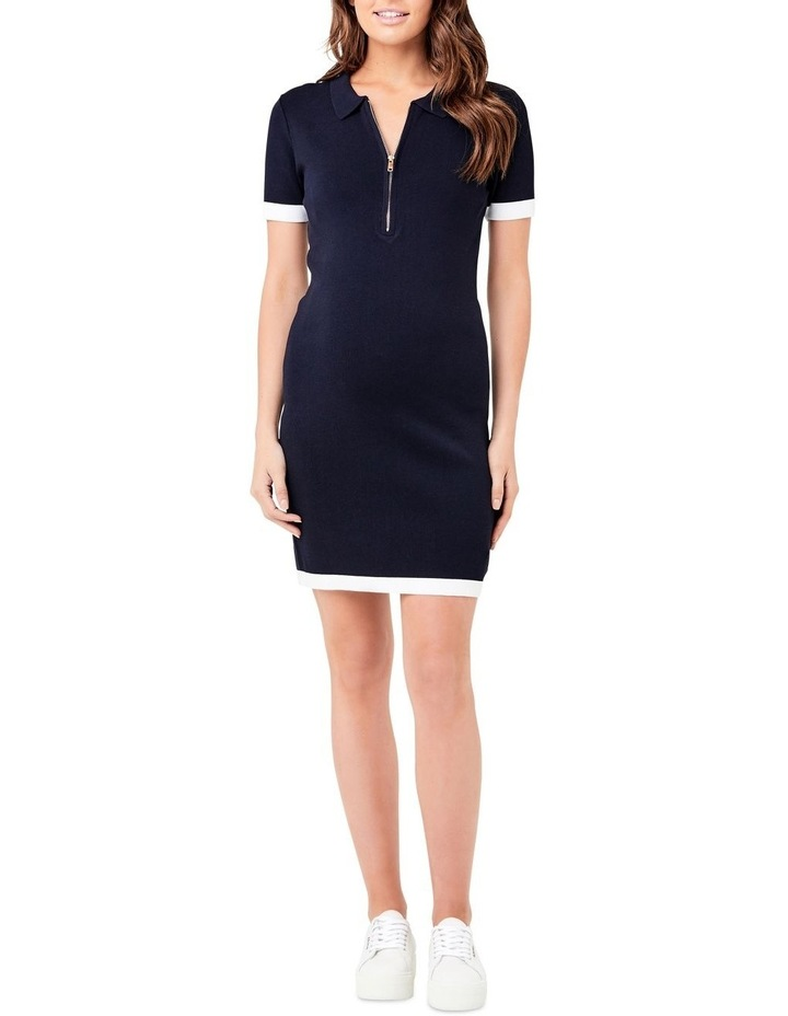 Zip Front Polo Dress image 1