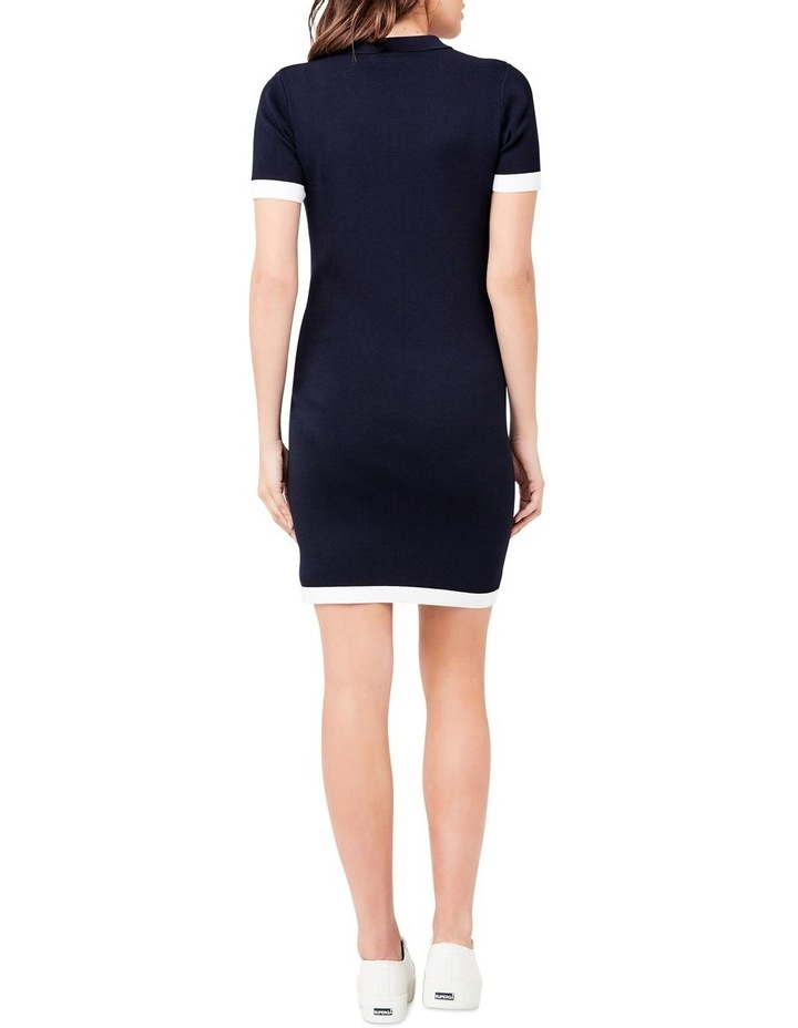 Zip Front Polo Dress image 3