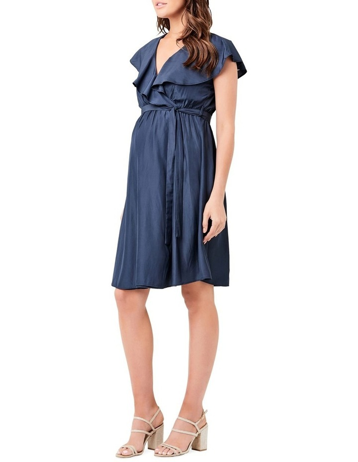Frill Wrap Nursing Dress image 2