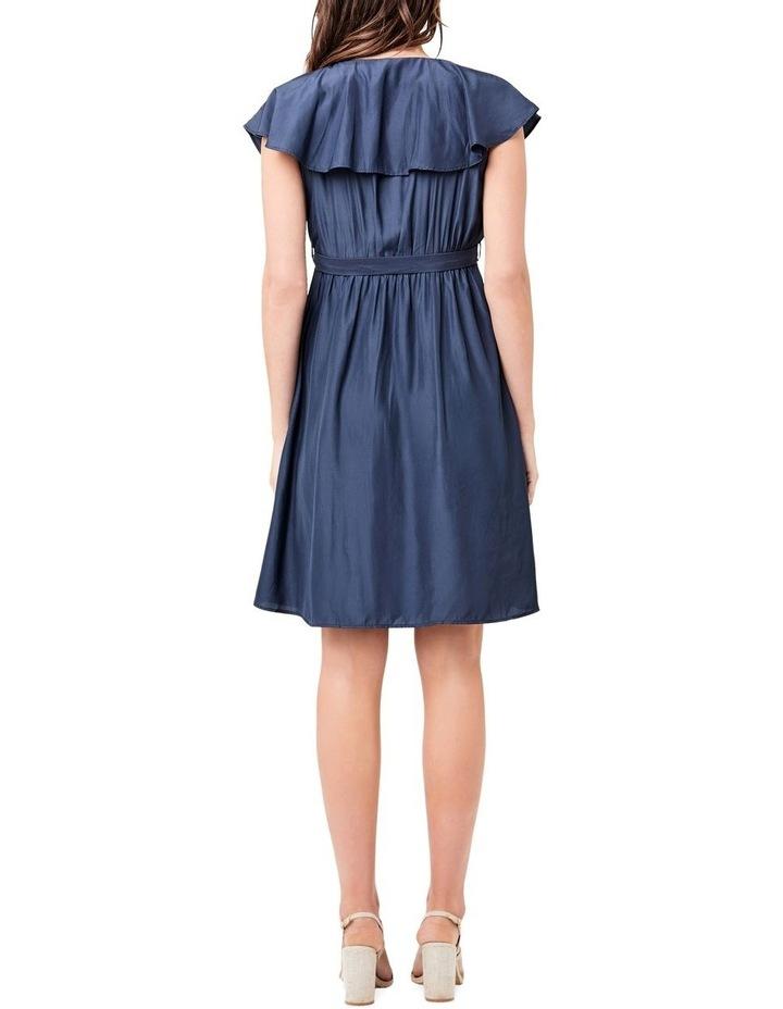 Frill Wrap Nursing Dress image 3