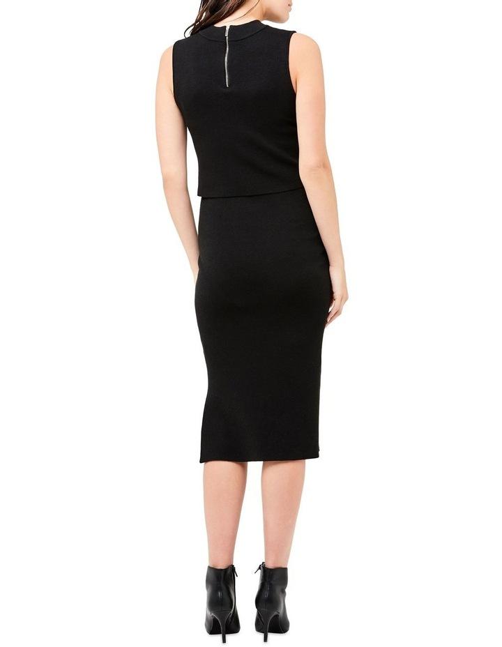 Layered Knit Nursing Dress image 3