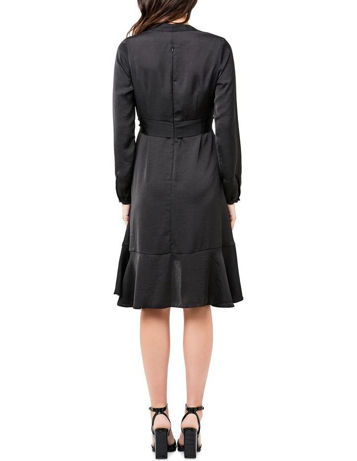 Satin Tie Front Dress image 3