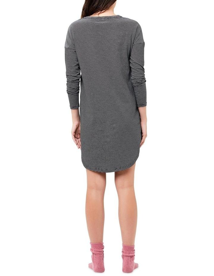 Long Sleeve Nursing Nightie image 3