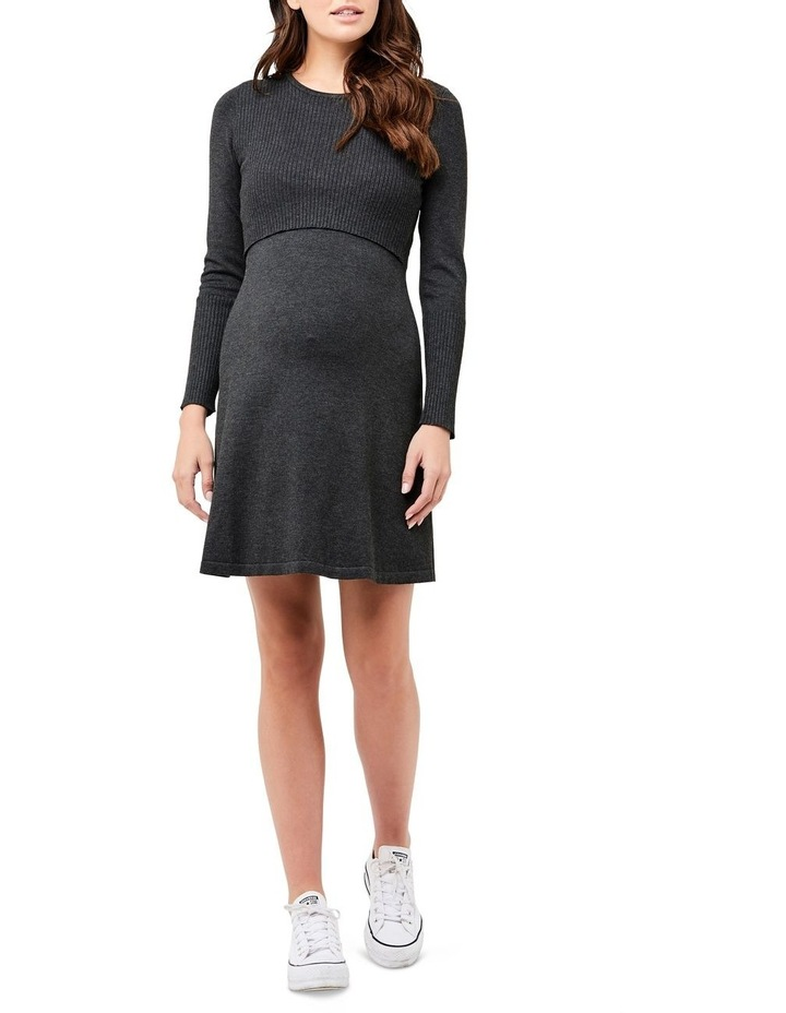 Molly Knit Nursing Dress image 1