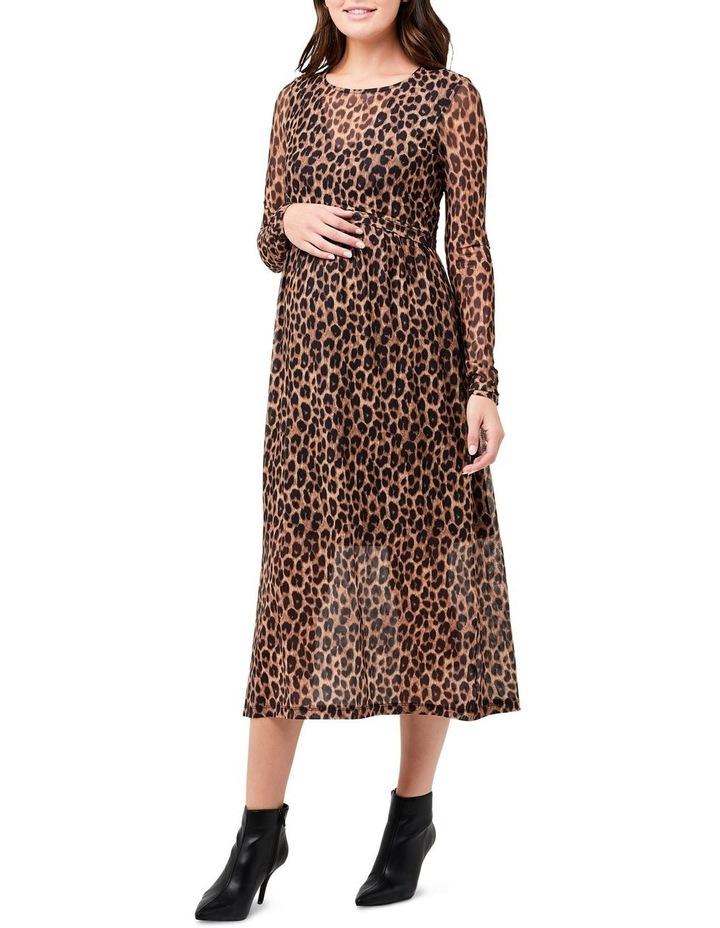 Tabby Crop Top Nursing Dress image 1