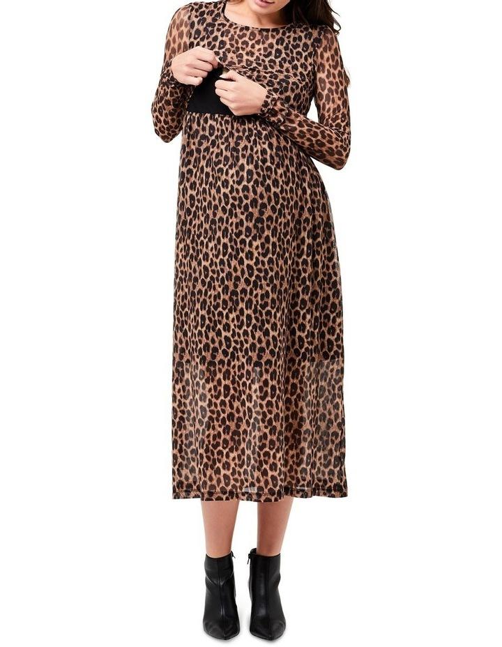 Tabby Crop Top Nursing Dress image 4