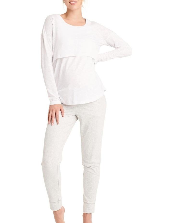 Richie Long Sleeve Nursing Tee image 1