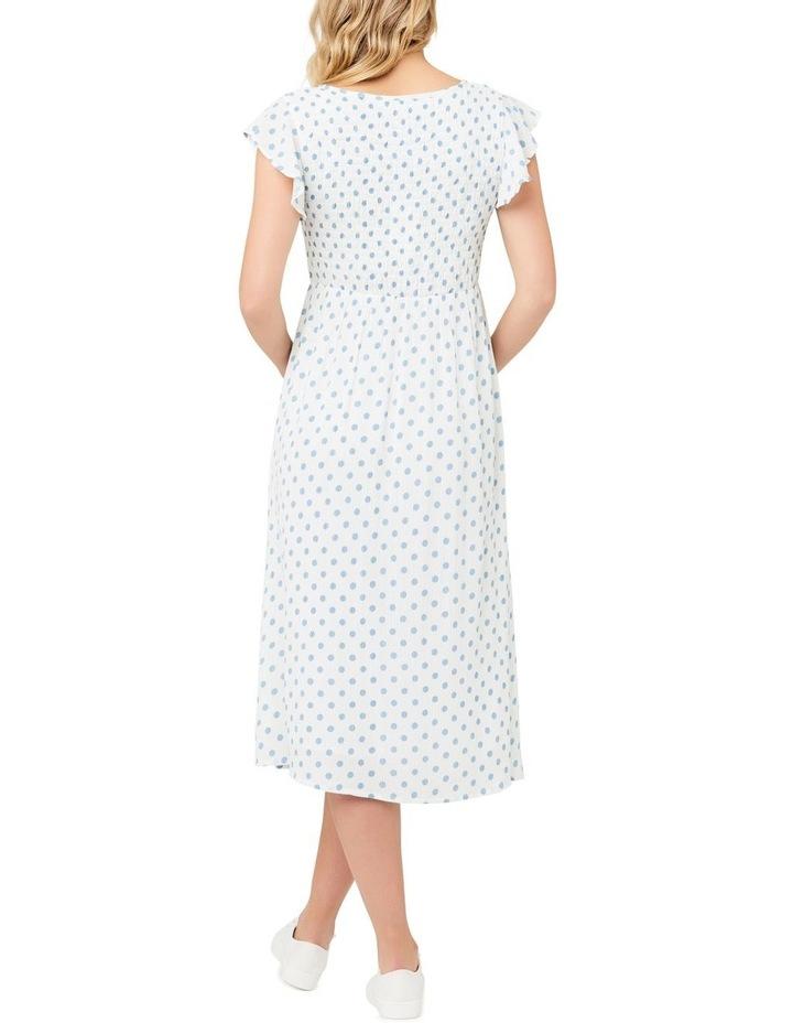 Dotty Shirred Dress image 4