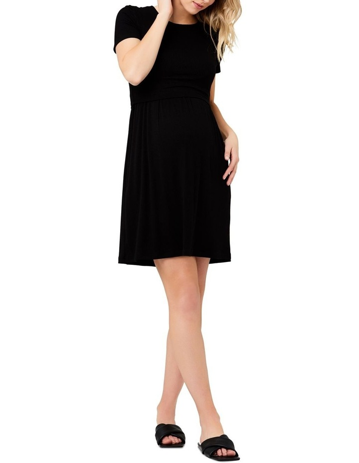 Rib Crop Top Nursing Dress image 1