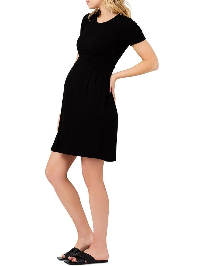 Rib Crop Top Nursing Dress image 2