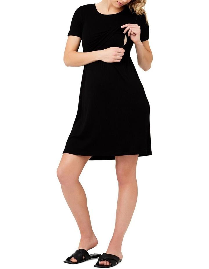 Rib Crop Top Nursing Dress image 4