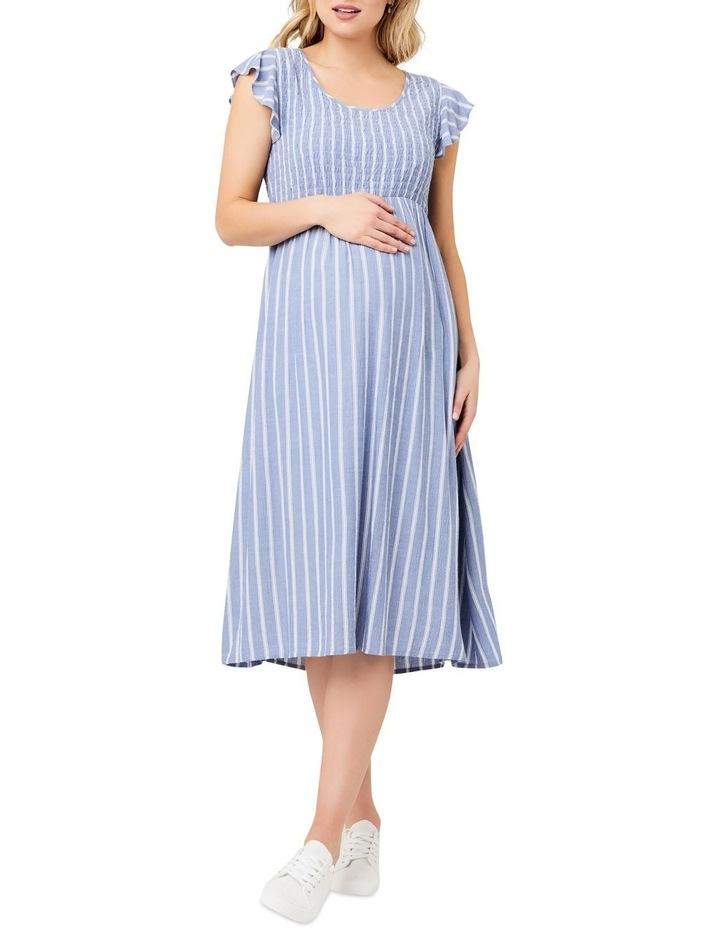 Sofia Shirred Dress image 1