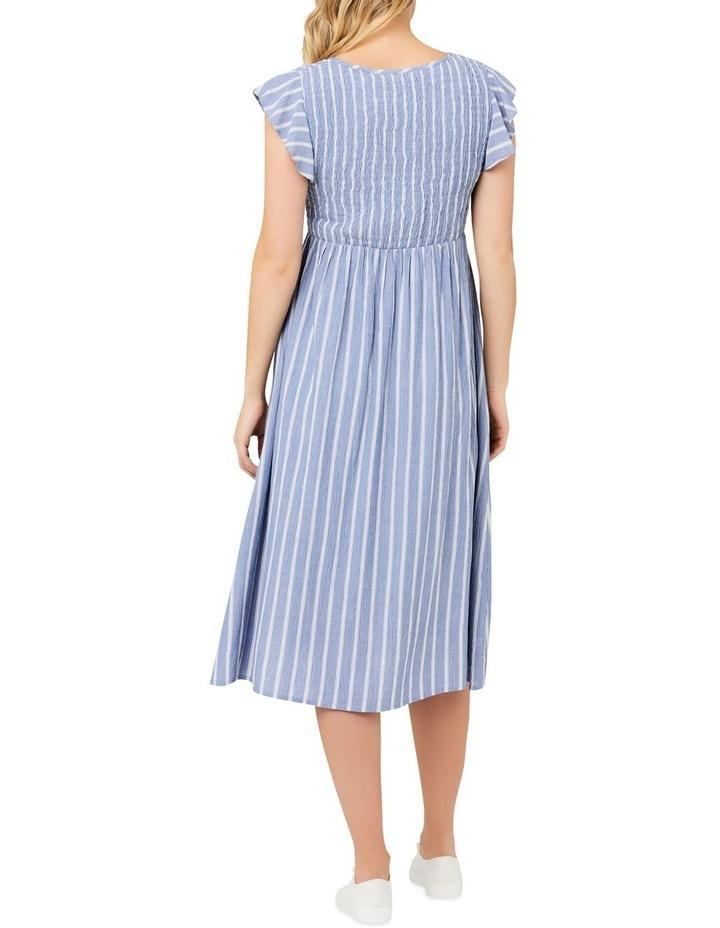 Sofia Shirred Dress image 4