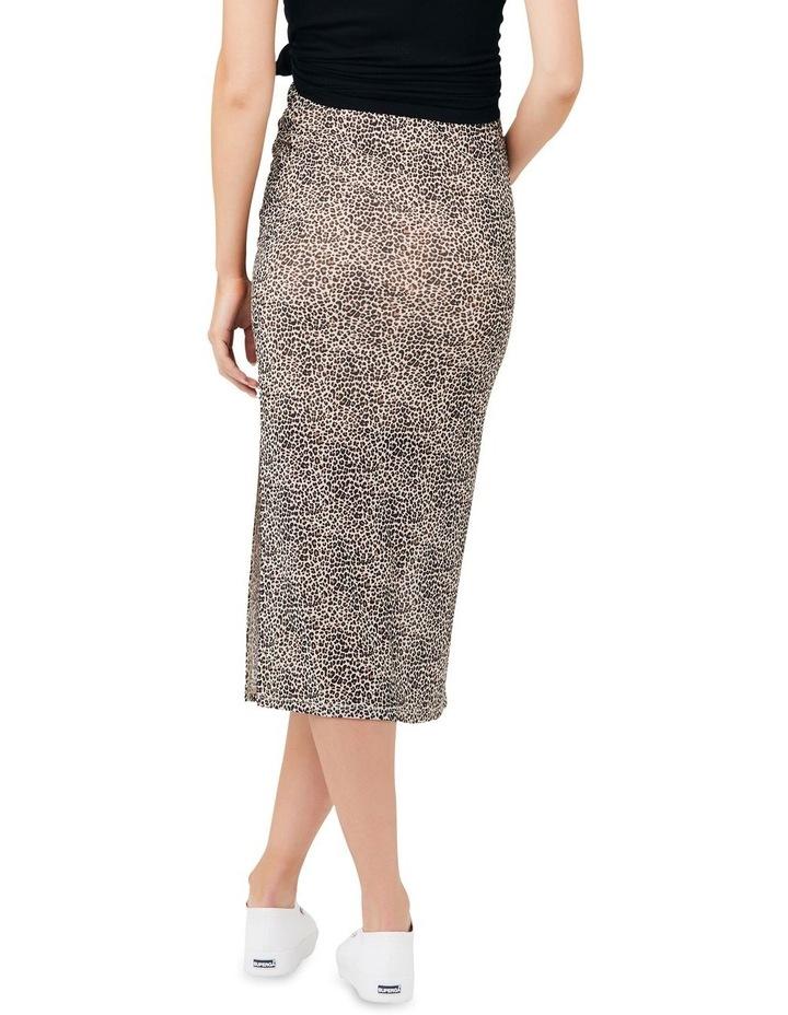 Leopard Mesh Skirt image 3