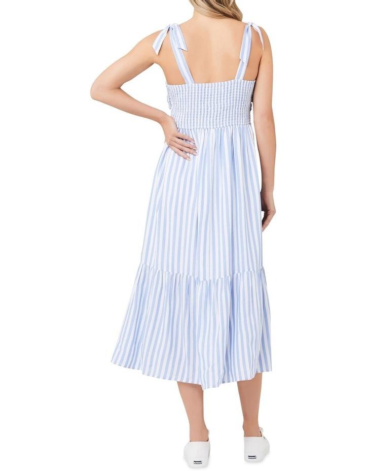 Lynn Stripe Nursing Dress image 3