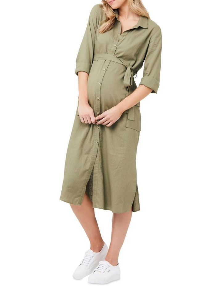 Riley Longline Shirt Dress image 1