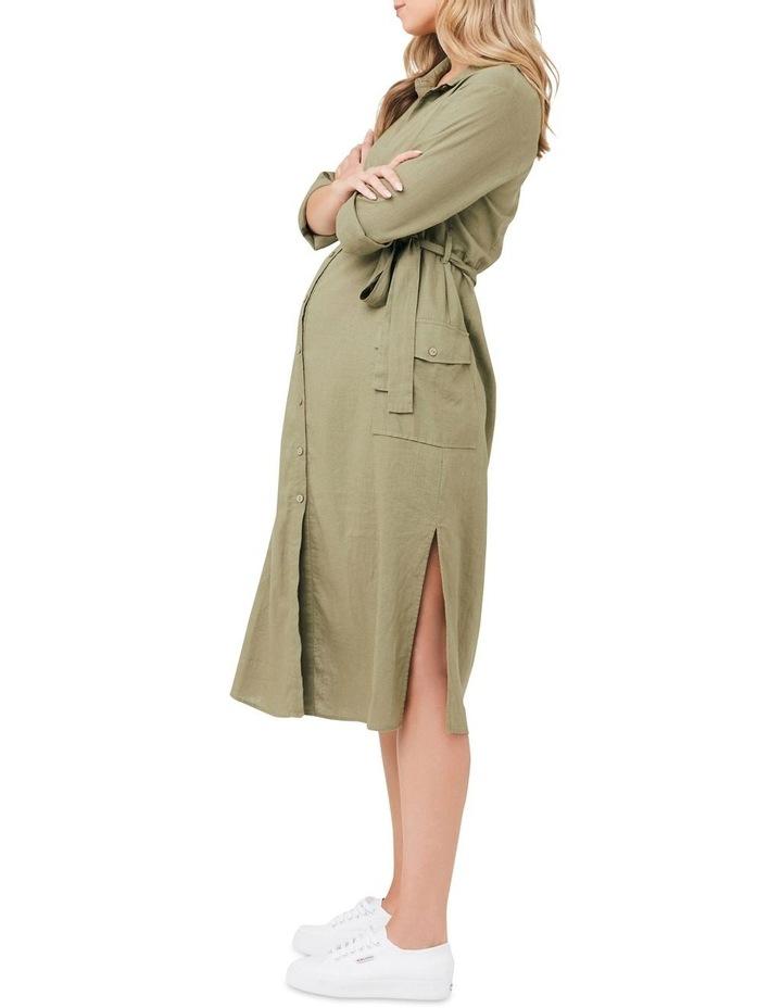 Riley Longline Shirt Dress image 2