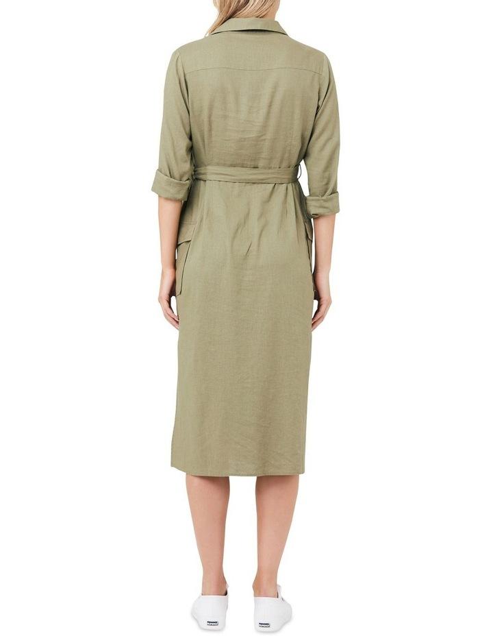 Riley Longline Shirt Dress image 3