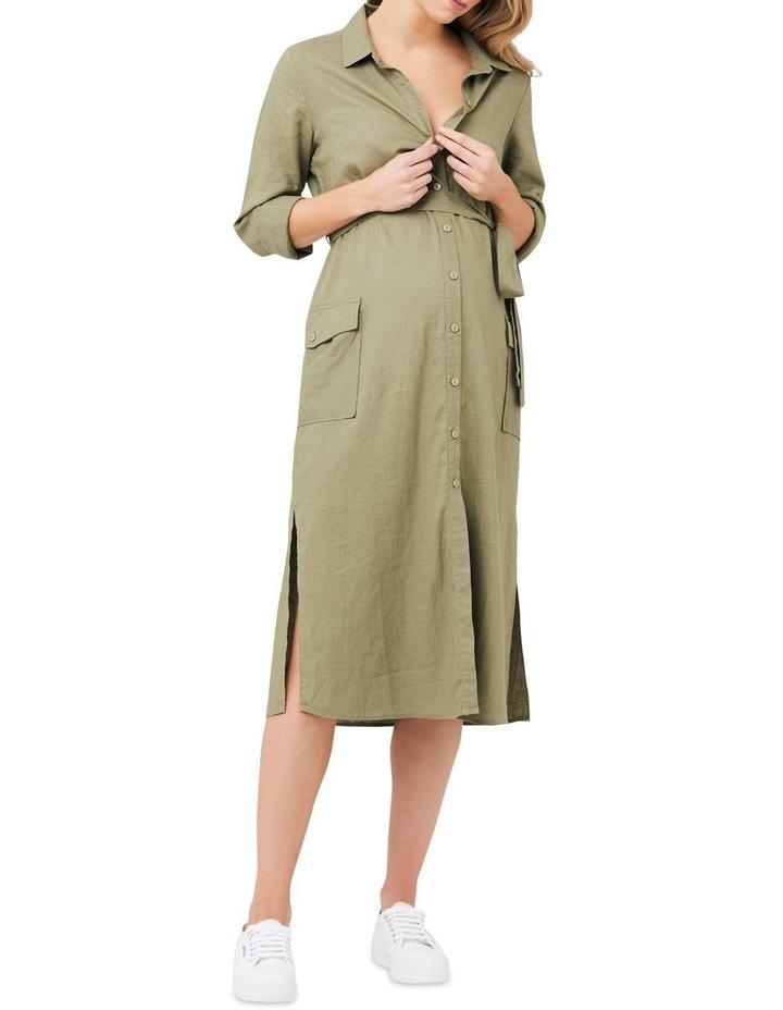 Riley Longline Shirt Dress image 4