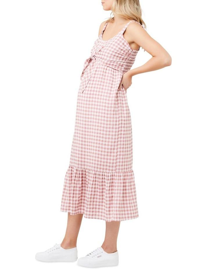 Gingham Nursing Dress image 2