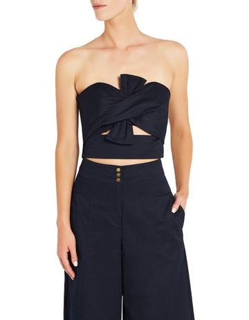 Neva Lace Waist Cap Sleeve Midi Dress