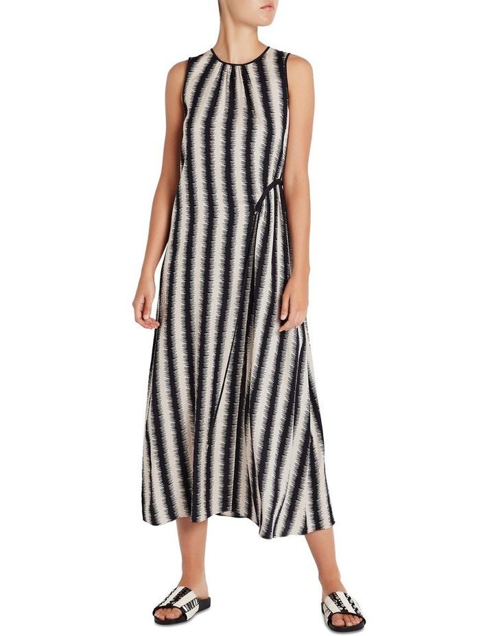 Zig Zag Stripe Dress image 1