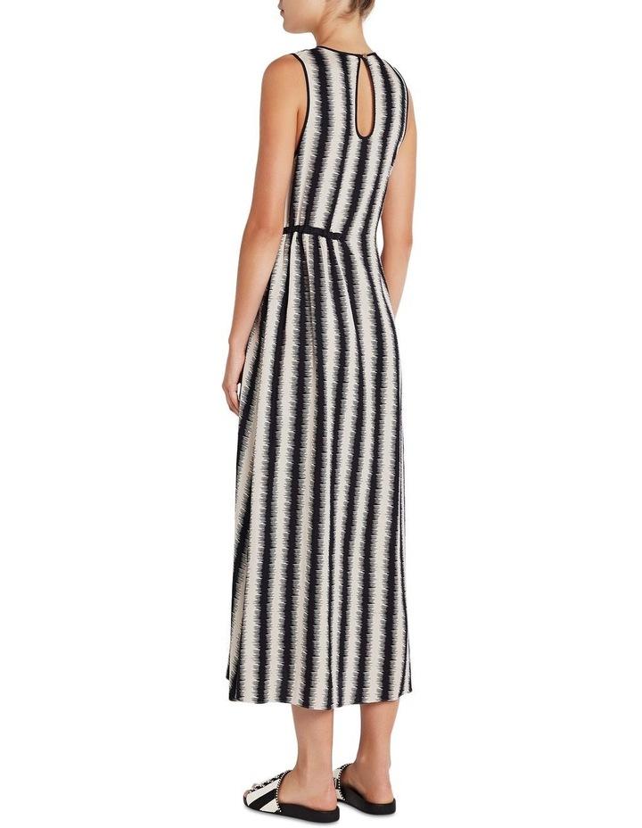 Zig Zag Stripe Dress image 3