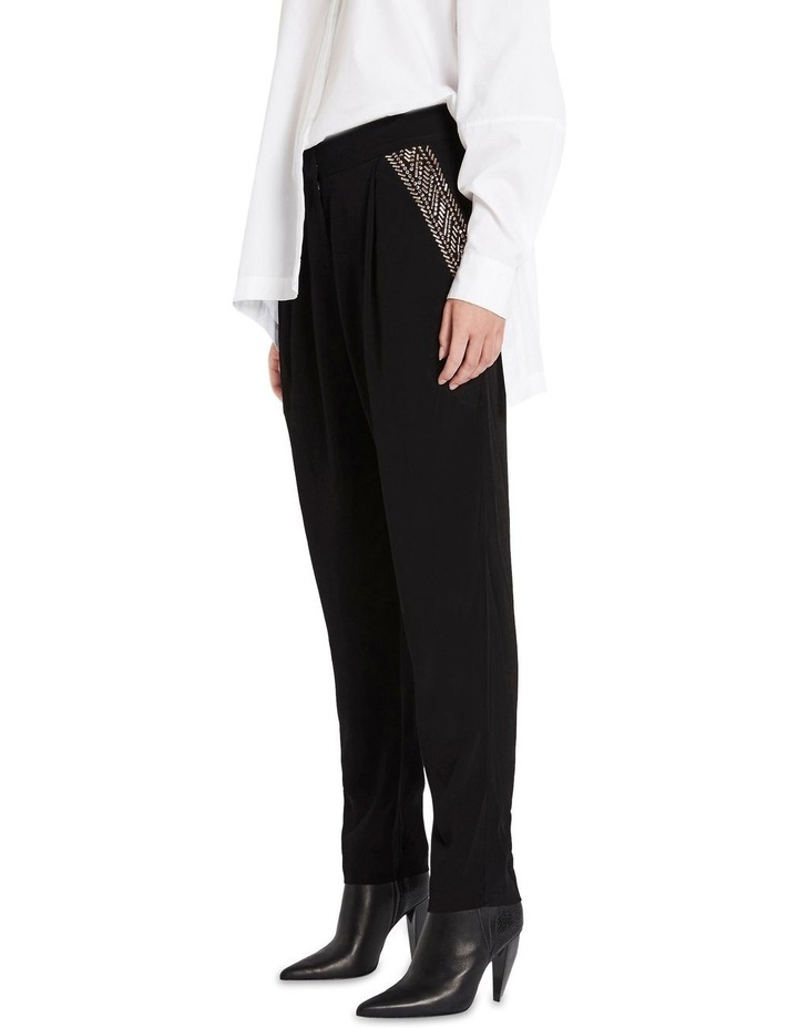 Rhinestone Eyes Pants image 2