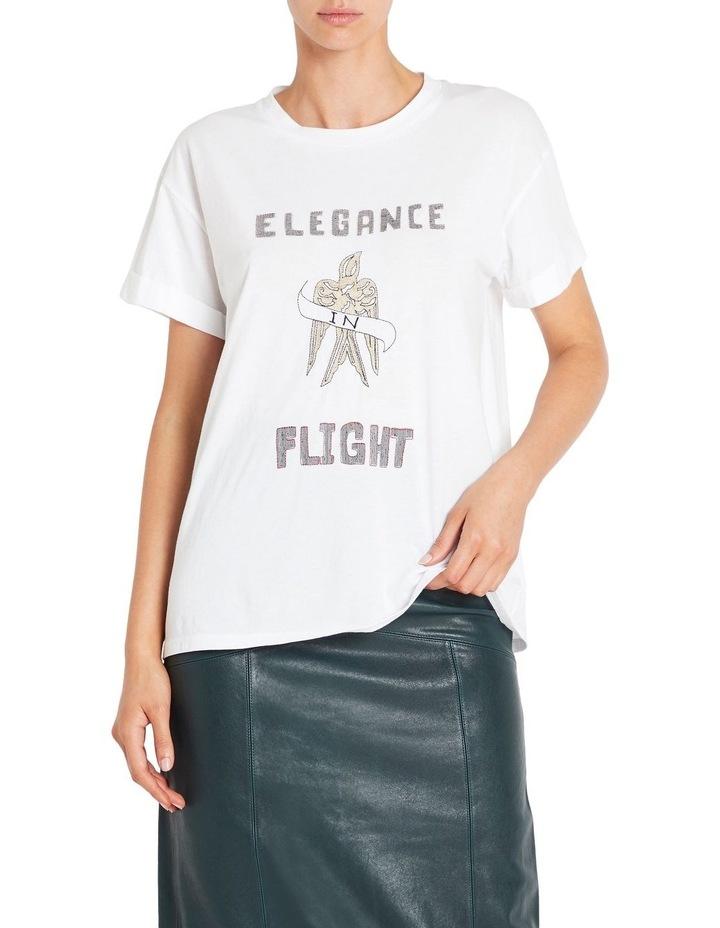 Elegance In Flight Tee image 1