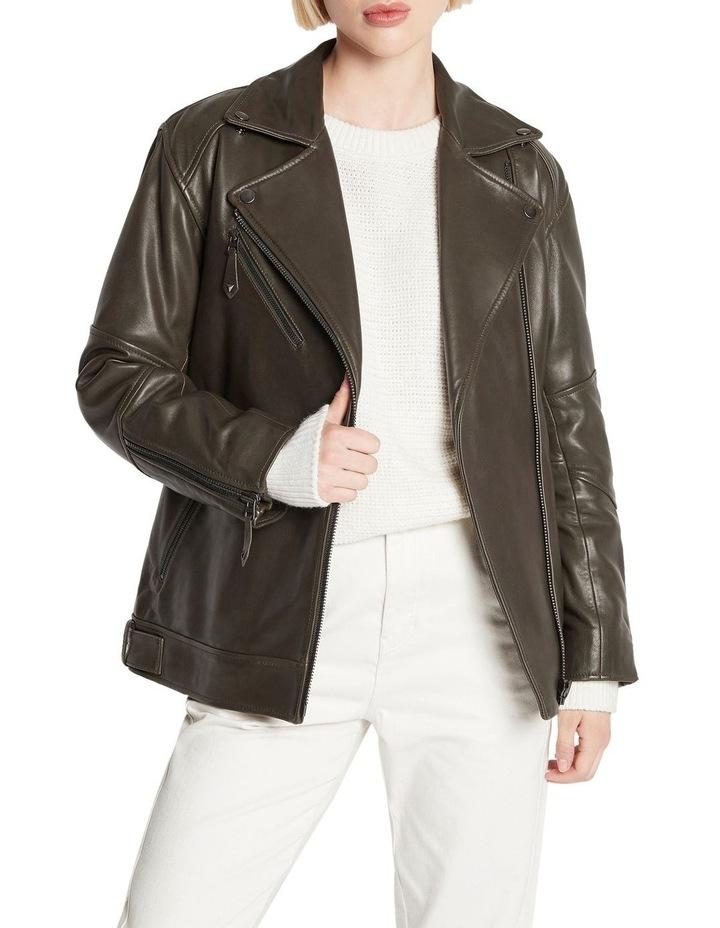 Hear Me Roar Biker Jacket image 1