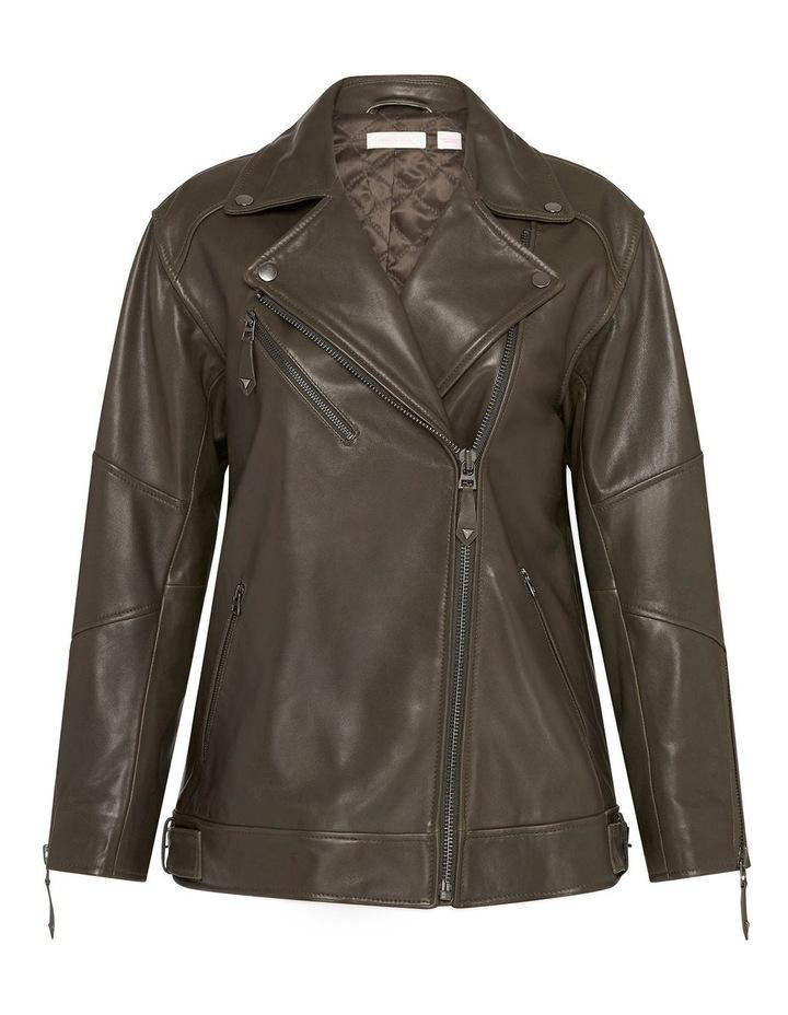Hear Me Roar Biker Jacket image 6