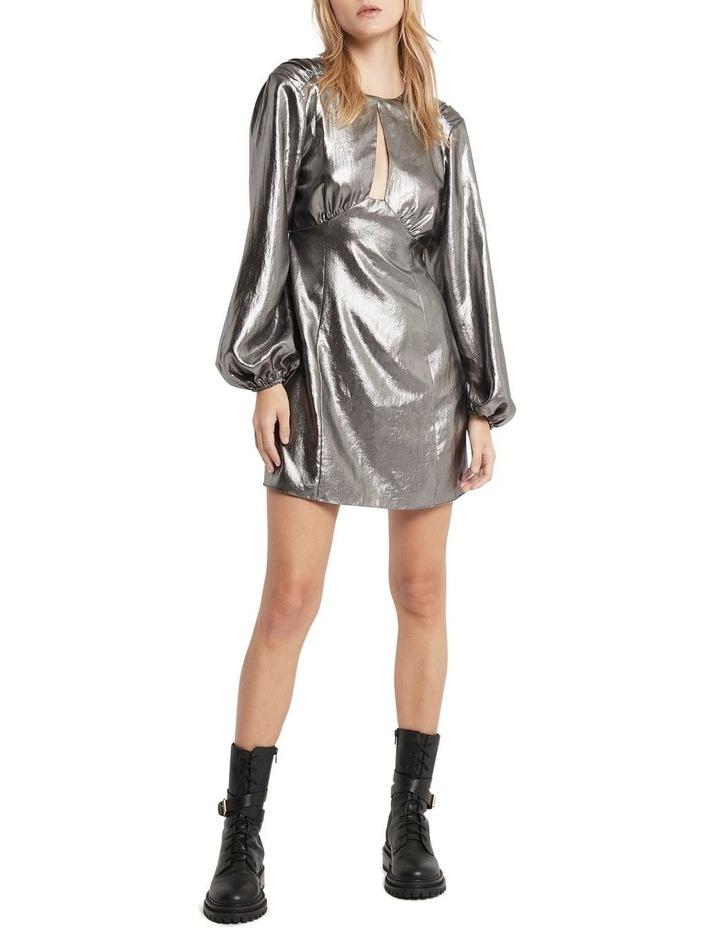 Mirror Mirror Mini Dress Pewter image 1