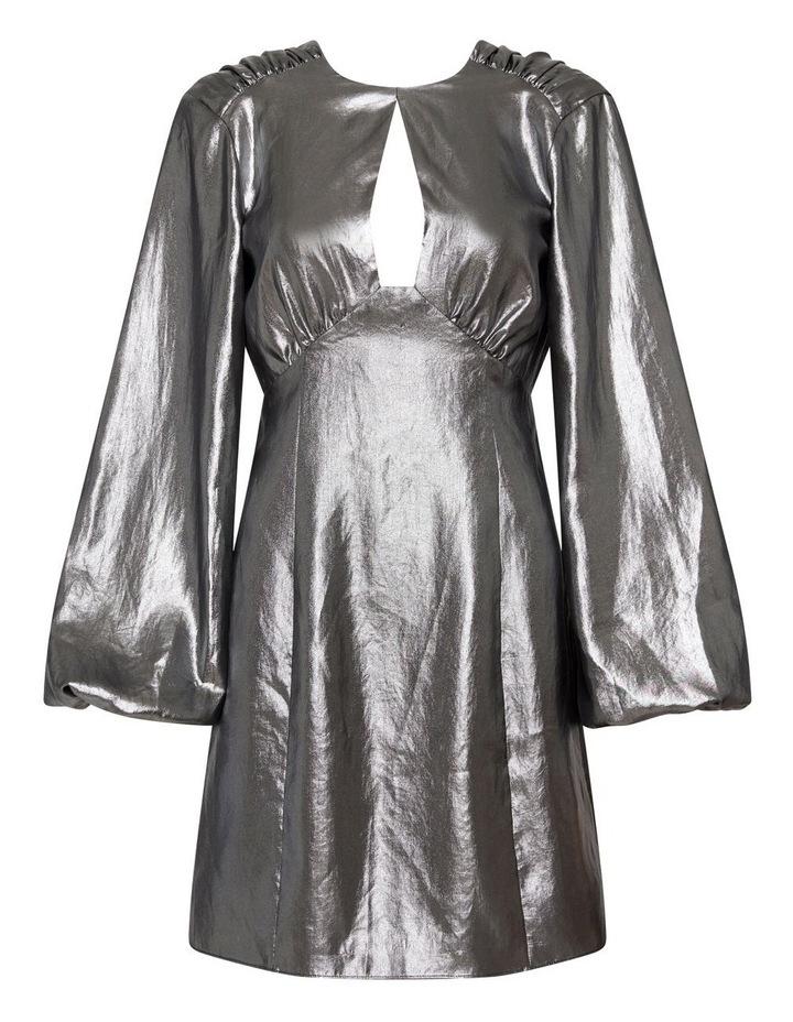 Mirror Mirror Mini Dress Pewter image 6