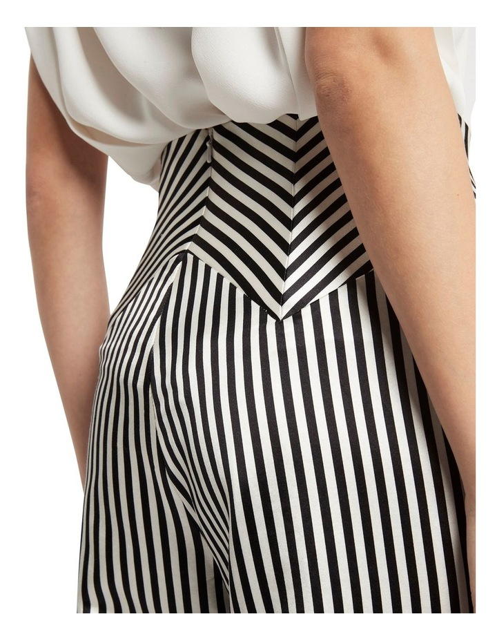 Jail House Rock Wide Leg Pant Black and White image 4