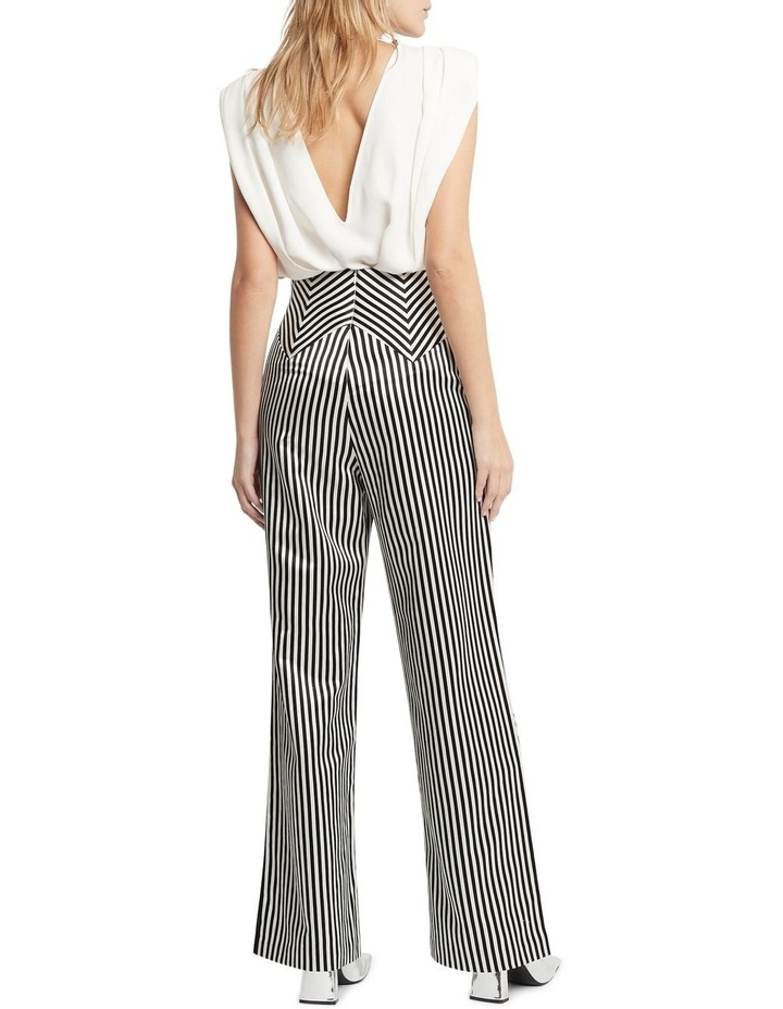 Jail House Rock Wide Leg Pant Black and White image 5