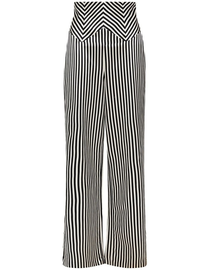 Jail House Rock Wide Leg Pant Black and White image 6