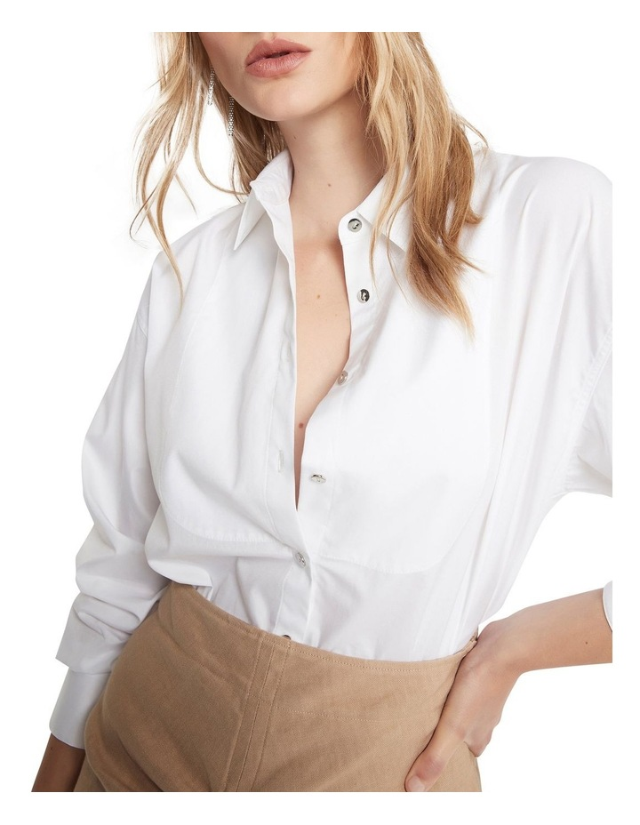Right Round Baby Button Down Shirt Ivory image 4
