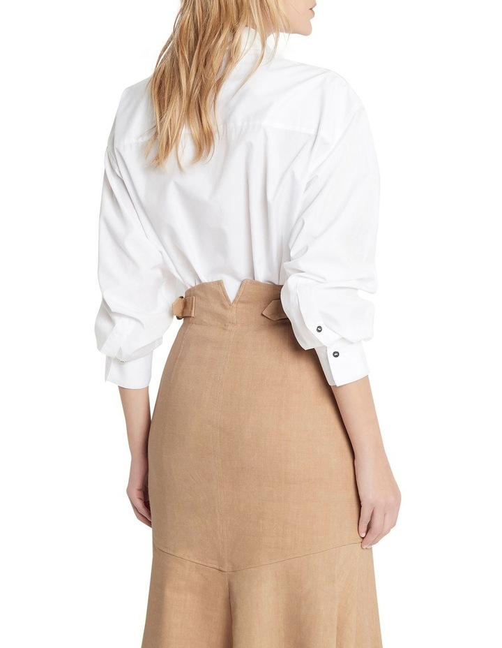 Right Round Baby Button Down Shirt Ivory image 5