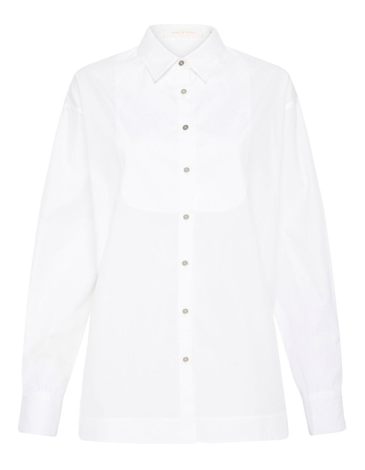Right Round Baby Button Down Shirt Ivory image 6