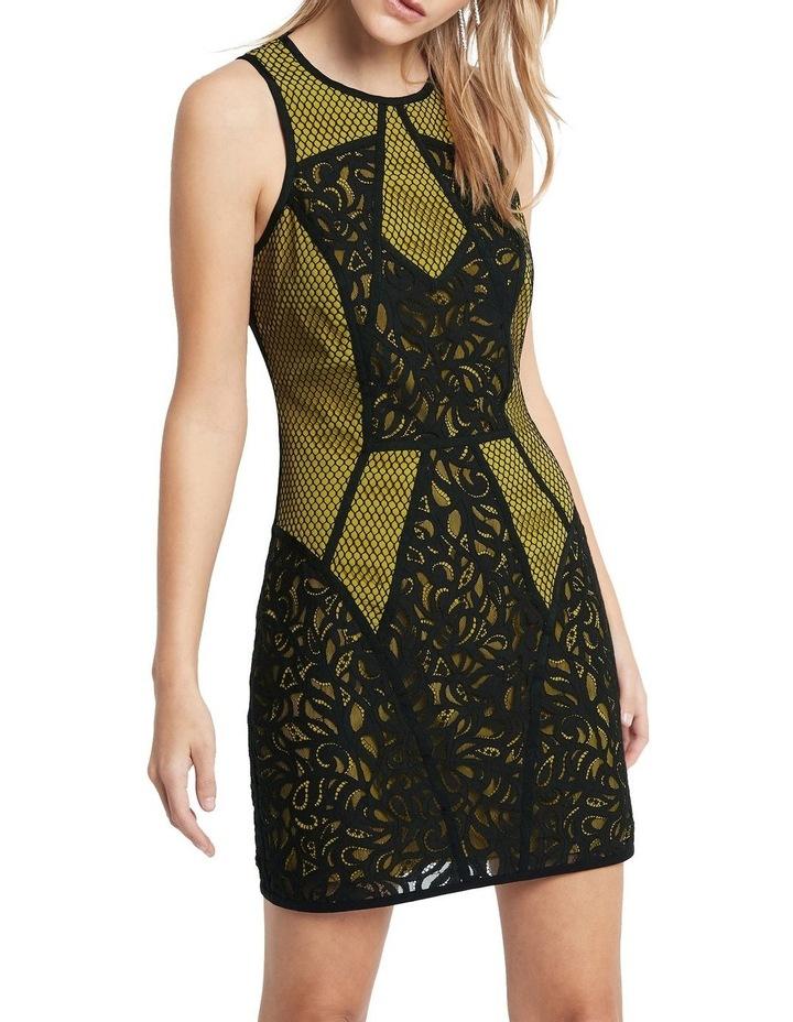 Puzzle Me This Mini Dress image 1