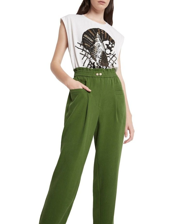 Cupid's Bow High Waisted Pant Pine image 2