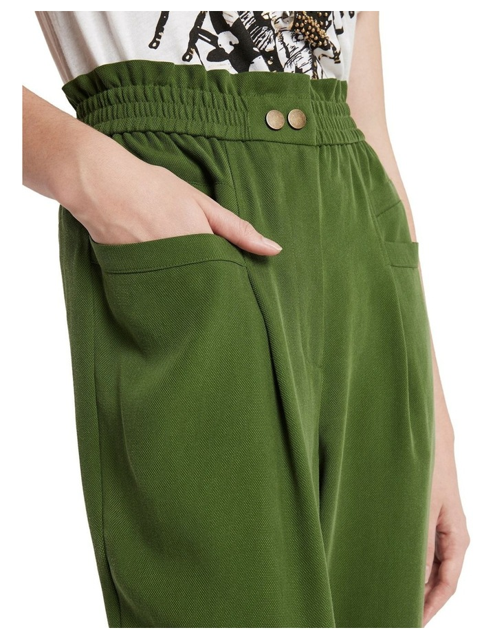 Cupid's Bow High Waisted Pant Pine image 4