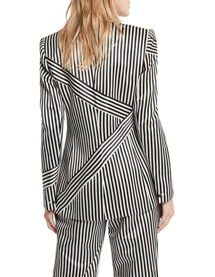 Jail House Rock Blazer Jacket Black and White image 5