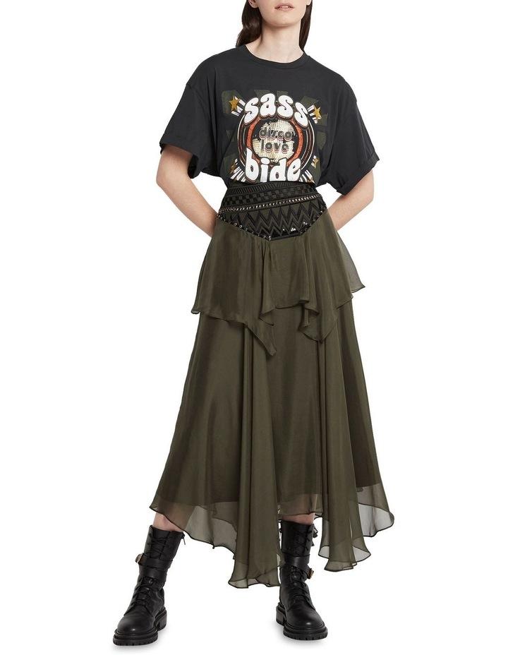 Memories Of Us Midi Skirt Olive image 1