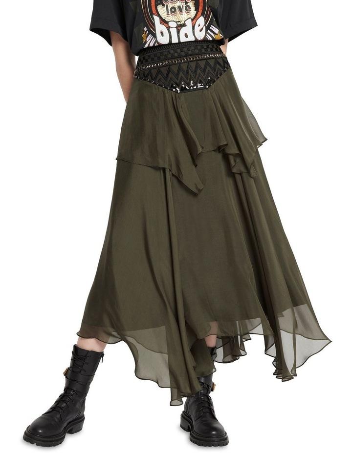 Memories Of Us Midi Skirt Olive image 2